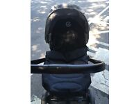 Oyster style carry cot and stroller