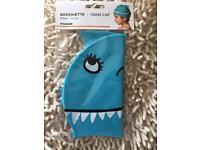 Swim Cap for Kids- Blue