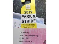 Ageas Bowl little mix parking ticket