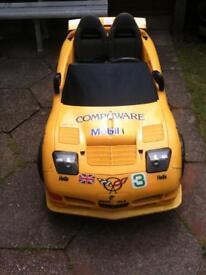 Child's electric corvette