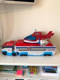 Paw Patrol Toy Set