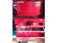 Tool chest with a selection of tools - Toolchest