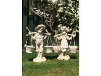 Jack & Jill garden ornaments