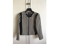 Black &White Jacket From H&M Size 42