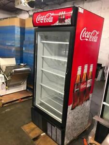 Single door glass coke fridge special $$$ only $795 ! 1 avaiable can ship ! Save$$