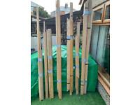 Solid oak architraves and beads for sale  Houghton Le Spring, Tyne and Wear