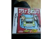 Nintendo ds game. . Mr bean.