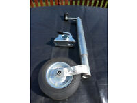 48mm Maypole Telescopic jockey wheel plus clamp for caravan or trailer