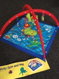 Activity gym mat