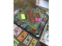 Rare board game / GHETTOPOLY