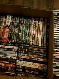 Dvds over 115 £1 each