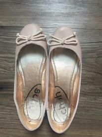 """Flats from """"Schuh"""" small size 6"""
