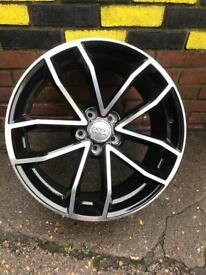 New 19 inch alloys AUDI rs style for all audi models wheels TT TTS TTRS RS3 S3 S5 A6 RS6 A4