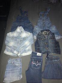 Age 5/6 girls denim bundle