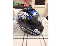 HJC motorcycle helmet (bike lid) size 60 (L)