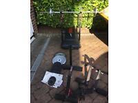 York Fitness bench press