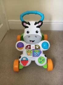 Fisher Price Learn with me Zebra Baby Walker