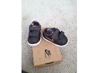 Baby Nike trainers. Never worn