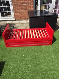 SALE Childs first bed with drawer underneath