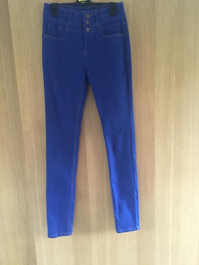Ladies new look skinny jeans size 10