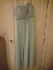 Green dress size 14