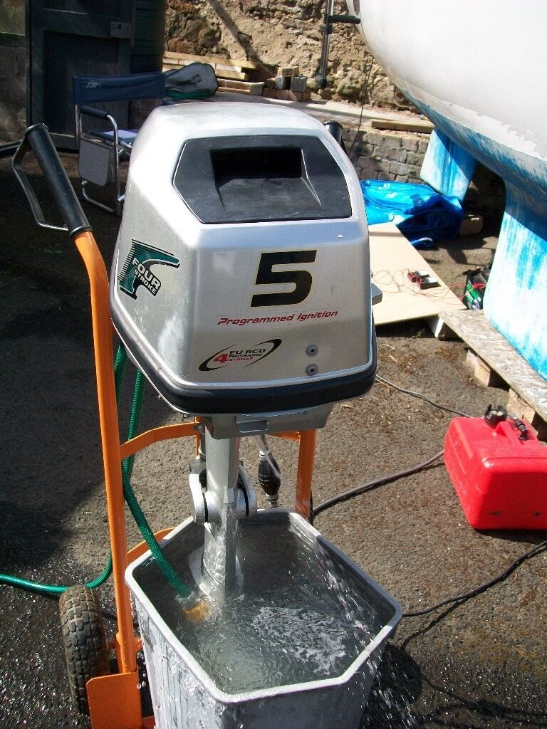 Outboard 5hp 4 stroke Honda BF5A