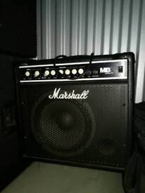 Two Marshall amps