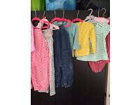 GIRLS CLOTHING, COATS AND SHOES BUNDLE 12-36 MONTHS FIFE