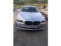 BMW 730d F01 taxed and mot'd,VGC and with History, Swap P/X, very good bodywork and interior