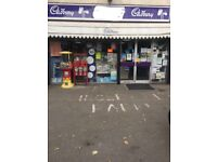 Business Shop Newsagents For Sale Excellent Location-With 2 Bed Flat- Huge Scope For Growth