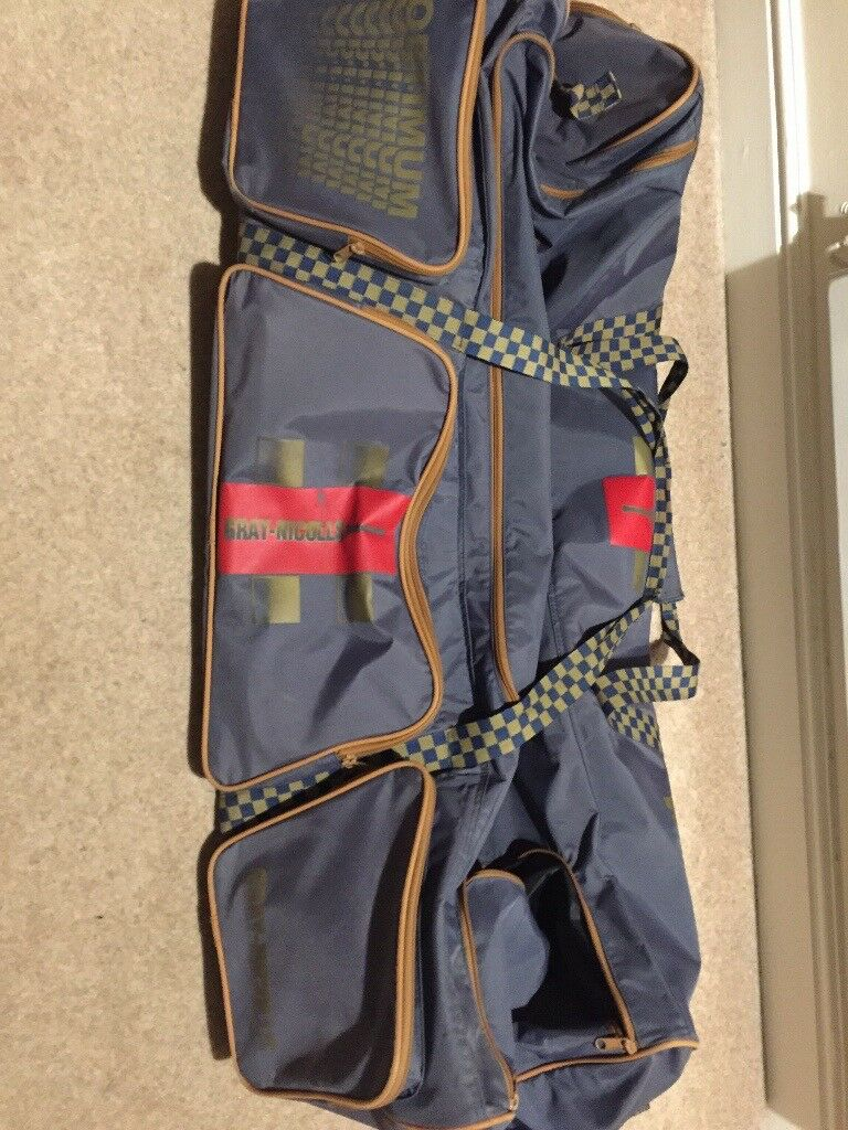 Gray-Nicolls blue large cricket bag