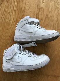Nike size 12/30 white - good condition