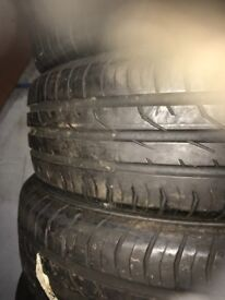 Some part worn tyres in stock to clear
