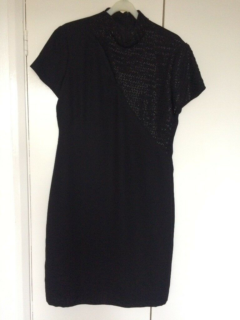 Size 14 Black Liz Claiborne Dress