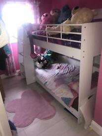 White bunk b