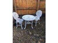 Gorgeous ornate patio set - bargain £70