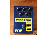 Guyatone tube echo (digital/analog delay pedal)