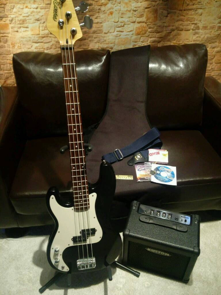 Electric Bass Guitar Package