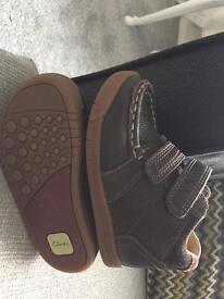 Little boys brown boots