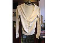 White primark size 10 cardigan