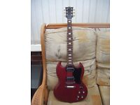 GIBSON SG SPECIAL 70's TRIBUTE-GIBSON GIG BAG- OFFERS CONSIDERED