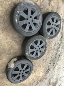 2005 Vauxhall Corsa C Alloys With Tyres 185 55 R15 185/55 R15