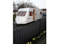 Fleetwood Colchester Touring Caravan Incl. Vango Airbeam awning+ extras galore has to be seen
