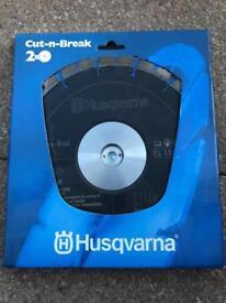Husqvarna cut-n-break diamond blade (pair) EL10CNB