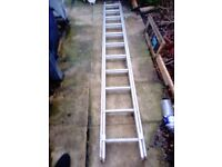 Extension 2 section ladder 2x 2.7m