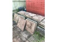 Concrete Garden slabs