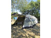 Outwell Norfolk Lake Large Family Tent. Excellent Condition. 8 Berth. 3 bedrooms