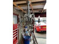 1972 Italian silver chandelier (just out of storage)