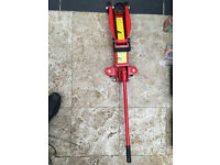 HEAVY DUTY HILKA 2 TONNE TON HYDRAULIC FLOOR TROLLEY JACK CAR / VAN