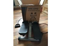 Swing stepper with arm straps